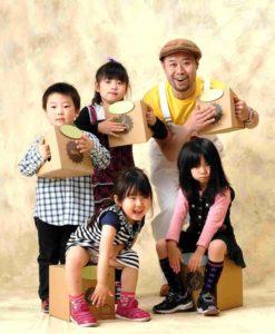 あけぼの保育園が開発協力をした、ダンボールから生まれた 子ども用パーカッション「ボルカホン」
